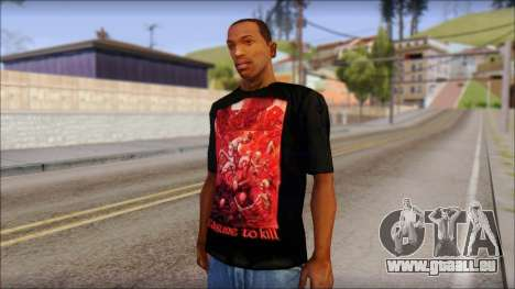 Kreator Shirt pour GTA San Andreas