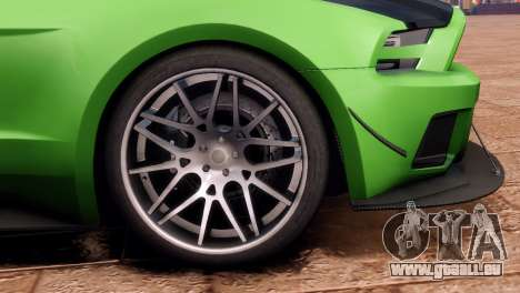 Ford Mustang GT 2014 Custom Kit für GTA 4 hinten links Ansicht