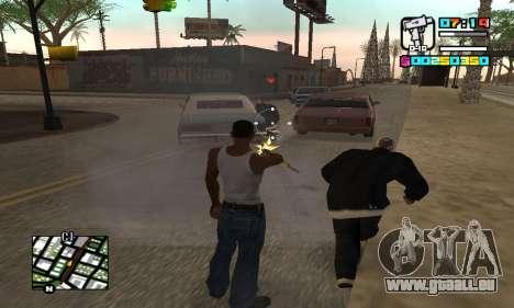 New HUD by Ptaxa1999 pour GTA San Andreas quatrième écran