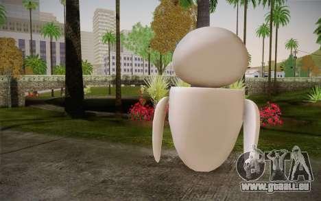 Eve Skin pour GTA San Andreas deuxième écran