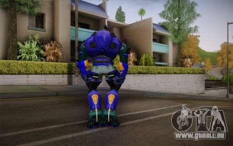 Blue Elite v2 pour GTA San Andreas deuxième écran