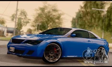 Ubermacht Zion XS 1.0 für GTA San Andreas