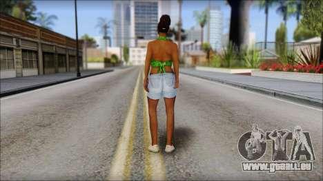 Kendl Skin pour GTA San Andreas deuxième écran
