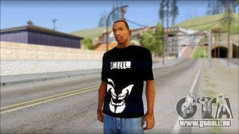 Evil T-Shirt für GTA San Andreas