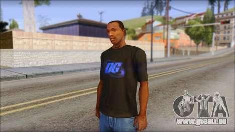 DG Negra T-Shirt für GTA San Andreas