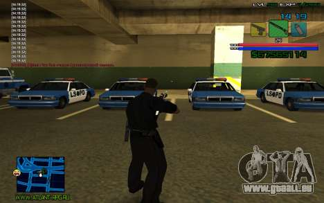 C-HUD by SampHack v.3 für GTA San Andreas dritten Screenshot