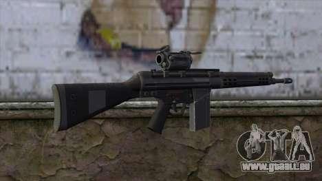HK A4 SOG from Medal Of Honor: Warfighter pour GTA San Andreas deuxième écran