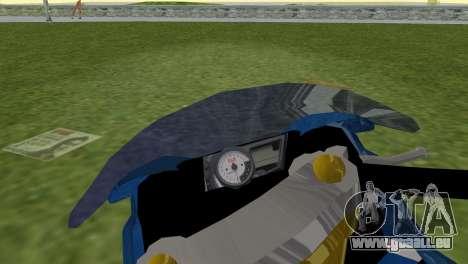 Suzuki GSX-R 1000 pour une vue GTA Vice City de la droite