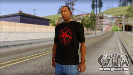 Red Pentagram Shirt für GTA San Andreas