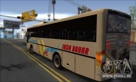 Sada Bahar Coach pour GTA San Andreas laissé vue