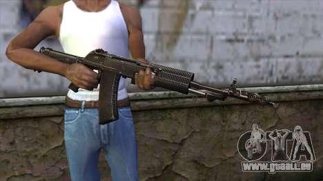 AN94 from CSO NST für GTA San Andreas dritten Screenshot