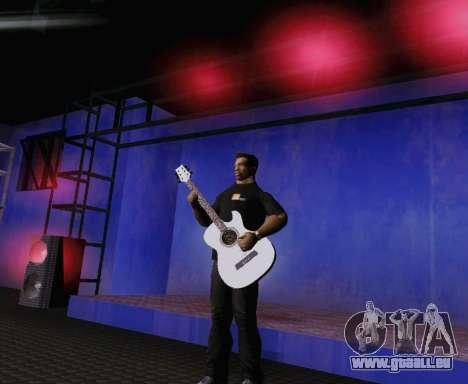 Les chansons de Viktor Tsoi guitare pour GTA San Andreas quatrième écran