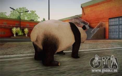 Panda Géant pour GTA San Andreas deuxième écran