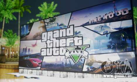 GTA V Billboards für GTA San Andreas