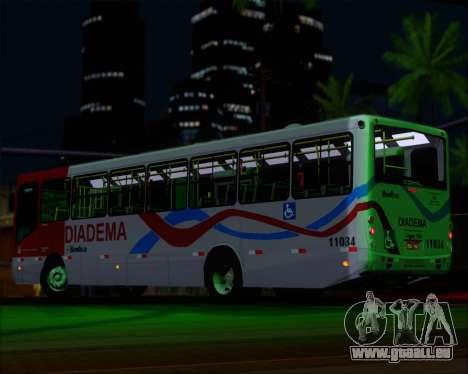 Comil Svelto 2008 Volksbus 17-2 Benfica Diadema pour GTA San Andreas moteur