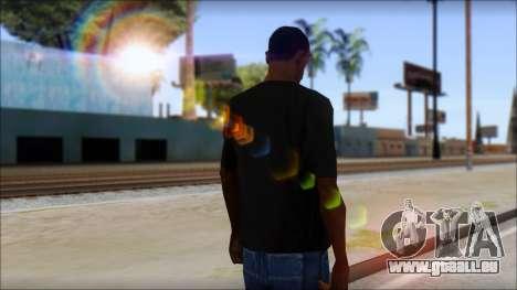 DG Negra T-Shirt pour GTA San Andreas deuxième écran