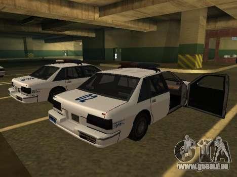 Police Original Cruiser v.4 pour GTA San Andreas laissé vue