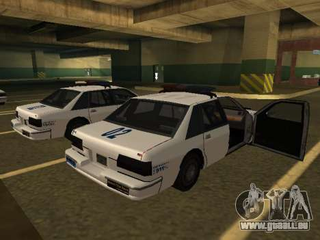 Police Original Cruiser v.4 für GTA San Andreas linke Ansicht