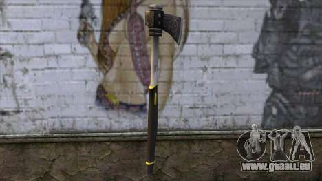 The Woodman Axe pour GTA San Andreas deuxième écran