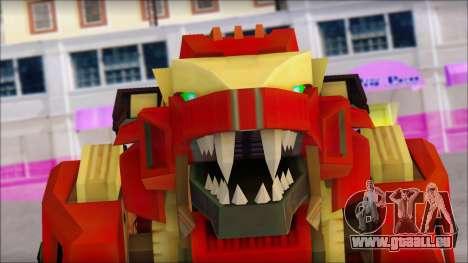 Liger Zero Zoids für GTA San Andreas dritten Screenshot