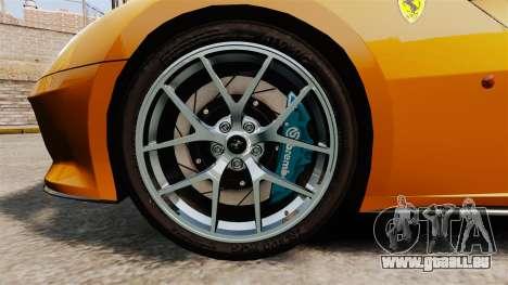 Ferrari 599 GTO PJ2 pour GTA 4 Vue arrière