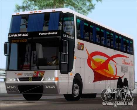 Busscar Jum Buss 400 Volvo B10R Pullman Del Sur für GTA San Andreas linke Ansicht
