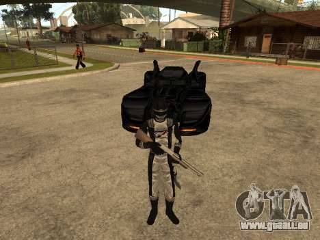 Power Rangers Operation Overdrive für GTA San Andreas sechsten Screenshot