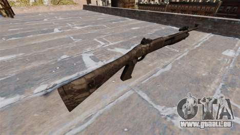 Ружье Benelli M3 Super 90 kryptek typhon pour GTA 4 secondes d'écran