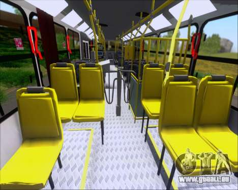 Comil Svelto 2008 Volksbus 17-2 Benfica Diadema für GTA San Andreas Seitenansicht