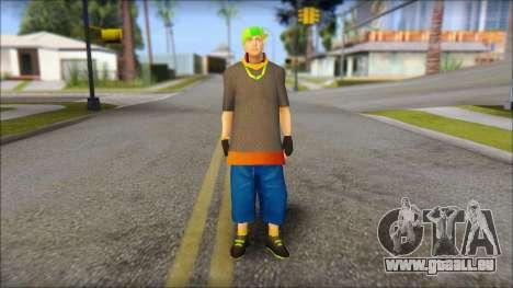 Urban DJ v3 pour GTA San Andreas