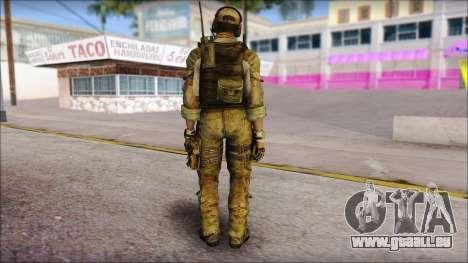 Grinch from Modern Warfare 3 pour GTA San Andreas deuxième écran