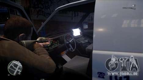 Israel MDA Ambulance pour GTA 4 Vue arrière de la gauche