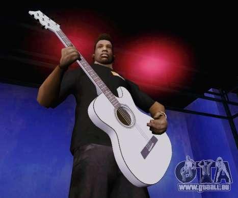 Les chansons de Viktor Tsoi guitare pour GTA San Andreas deuxième écran