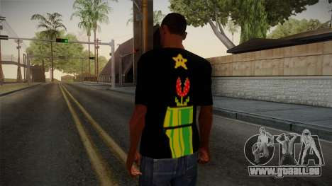 Mario Bros T-Shirt für GTA San Andreas zweiten Screenshot
