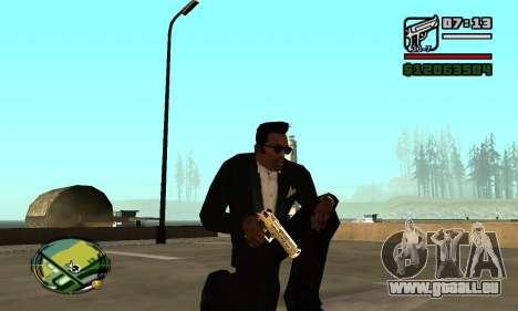 Gold Deagle pour GTA San Andreas deuxième écran