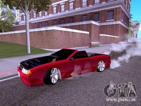 Elegy Cabrio HD pour GTA San Andreas laissé vue