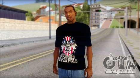 A7X Love It Or Die Fan T-Shirt pour GTA San Andreas