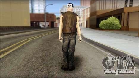 Benji from Good Charlotte pour GTA San Andreas deuxième écran