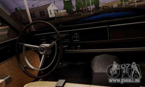 Dodge Coronet 440 Hardtop Coupe (WH23) 1967 für GTA San Andreas rechten Ansicht