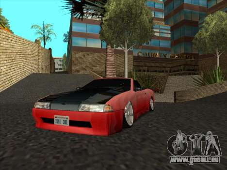 Elegy Cabrio HD pour GTA San Andreas vue intérieure