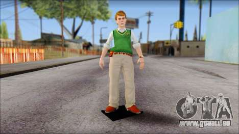 Earnest from Bully Scholarship Edition für GTA San Andreas zweiten Screenshot