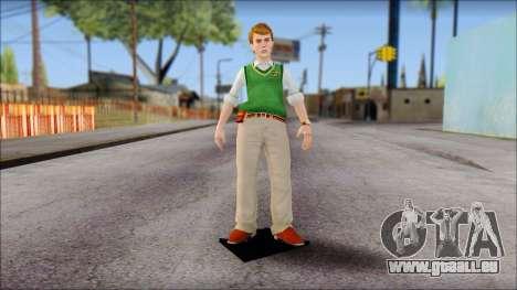 Earnest from Bully Scholarship Edition pour GTA San Andreas deuxième écran