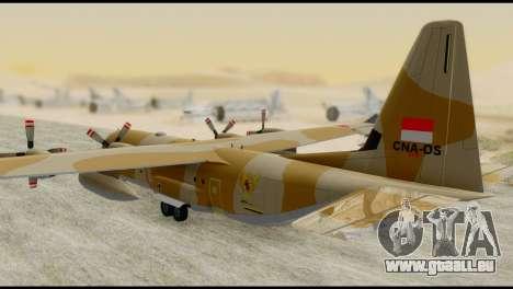 C-130 Hercules Indonesia Air Force pour GTA San Andreas laissé vue
