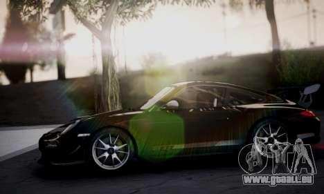 Porsche 911 GT3 RS4.0 2011 pour GTA San Andreas vue intérieure