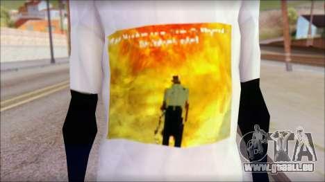 Monster von Back O Beyond T-Shirt pour GTA San Andreas troisième écran