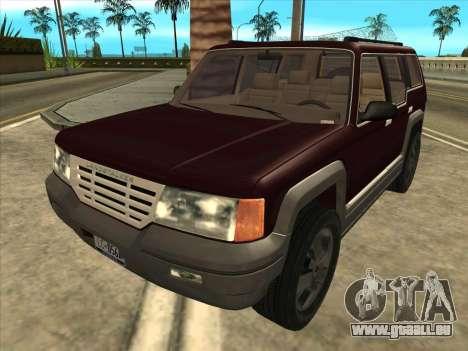 Landstalker from GTA 3 pour GTA San Andreas