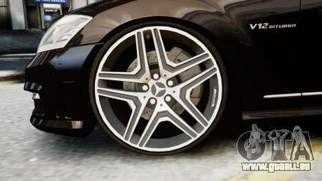 Mercedes-Benz S65 W221 AMG v1.3 pour GTA 4 est un droit