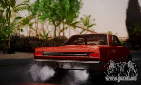 Dodge Coronet 440 Hardtop Coupe (WH23) 1967 für GTA San Andreas linke Ansicht