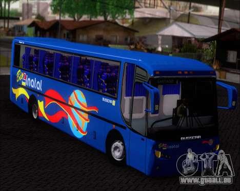 Busscar El Buss 340 Bio Linatal pour GTA San Andreas vue intérieure