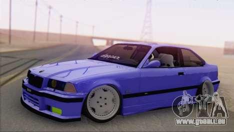 BMW M3 E36 Coupe Slammed pour GTA San Andreas